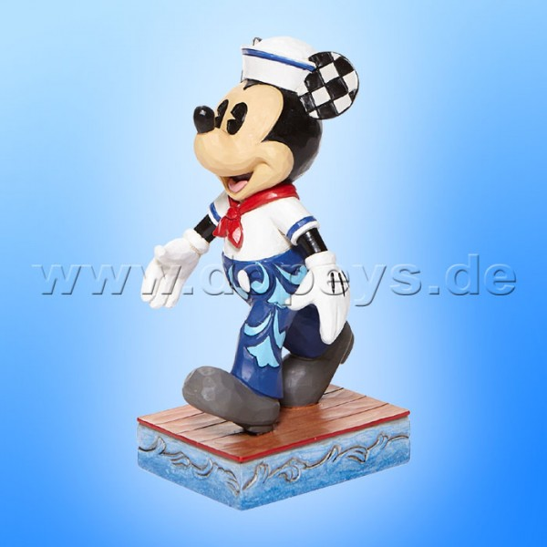 Disney Traditions - Snazzy Sailor (Mickey als Matrose Personality Pose) von Jim Shore 6008079