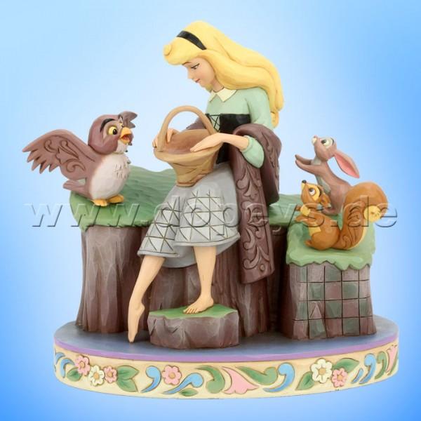 Beauty Rare (Dornröschen mit Tieren 60 Jahre Jubiläumsfigur) Figur von Disney Traditions / Jim Shore - Enesco 6005959
