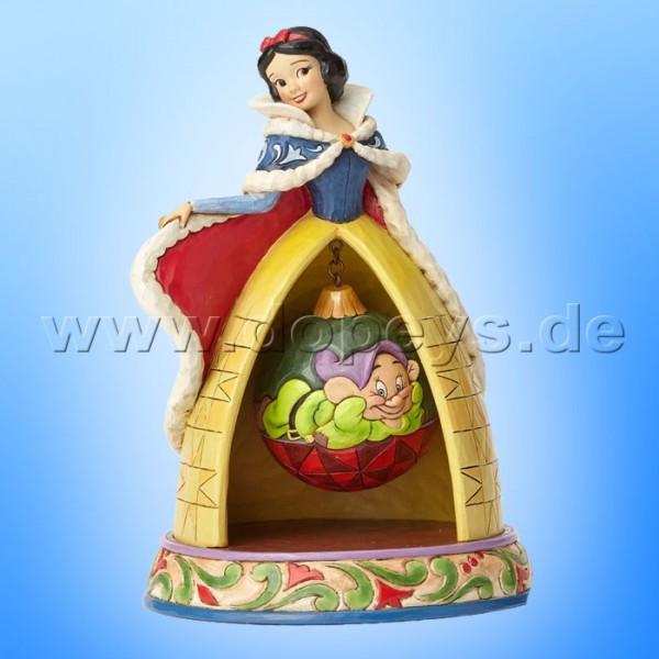 "Disney Traditions / Jim Shore Figur von Enesco ""Tidings Of Goodwill (Weihnachts Schneewittchen)"" 4057942."