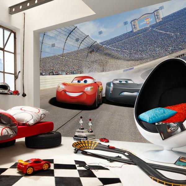 "Disney Fototapete ""Cars 3 Curve"""