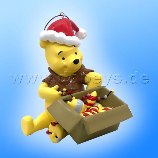 """Kurt S. Adler - Disney """"Puuh mit Weihnachtsmütze"""" Winnie Puuh Weihnachtsbaumanhänger / Ornament DN35036"""