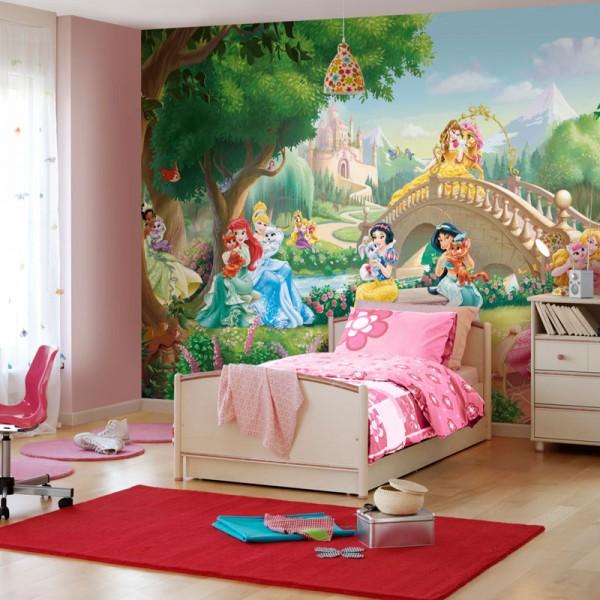 "Disney Fototapete ""Princess Palace Pets"""