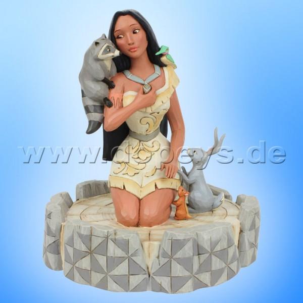 Brave Beauty (Pocahontas White Woodland) Figur von Disney Traditions / Jim Shore - Enesco 6007062