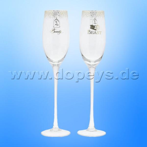 Disney Enchanting Collection - Die Schöne und das Biest Hochzeits-Sektgläser Set A29335