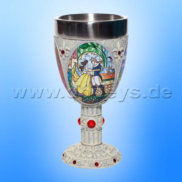 """Disney Showcase Collection - """"Die Schöne und das Biest"""" Kelch / dekorativer Schmuck-Pokal von Enesco 6007188"""